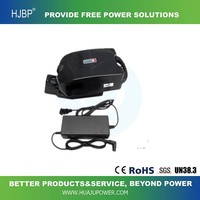2016 HOT SALE 24v 14AH with controler and charger electric bike battery