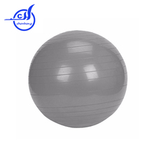 2016 Anti-burst self inflatable yoga ball PVC , rubber exercise ball