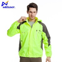 Sports series LED motorcycle jacket light up clothing with flashing system