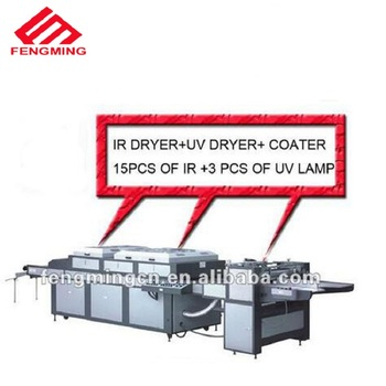 Semi-automatic new whole uv coating machine with 1150mm