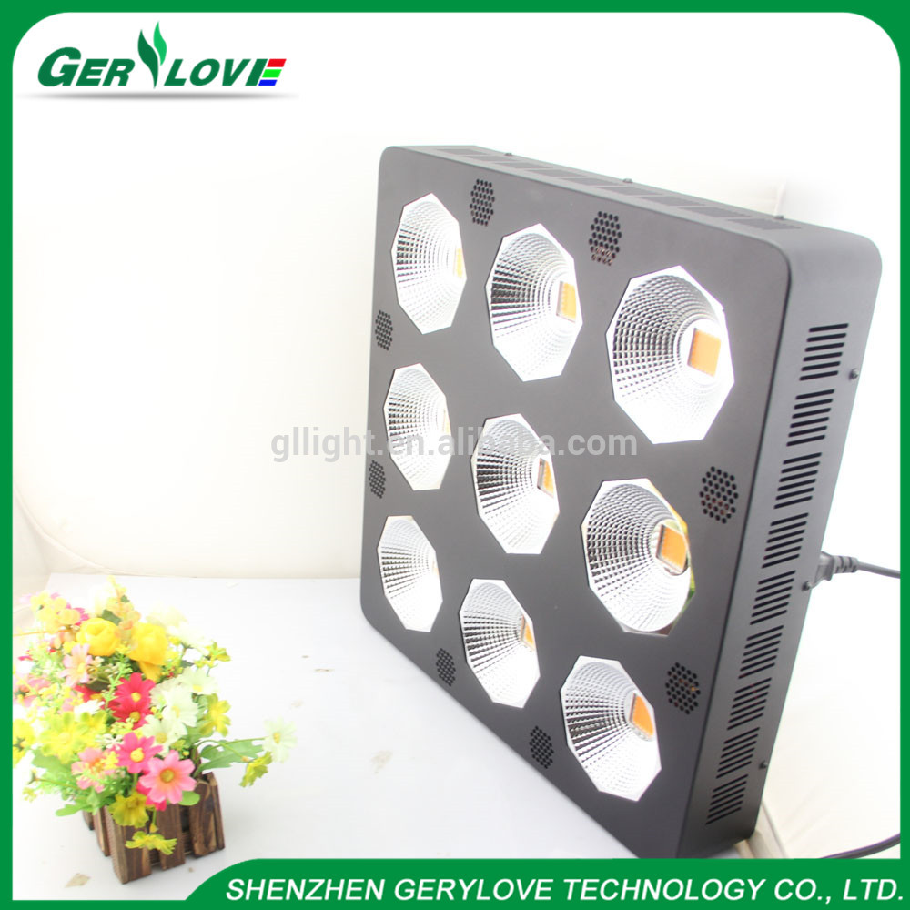 Grow 2000W COB LED Grow Light Full Spectrum Plant Growing Lamp for Hydroponic Greenhouse Plant Growth Lighting