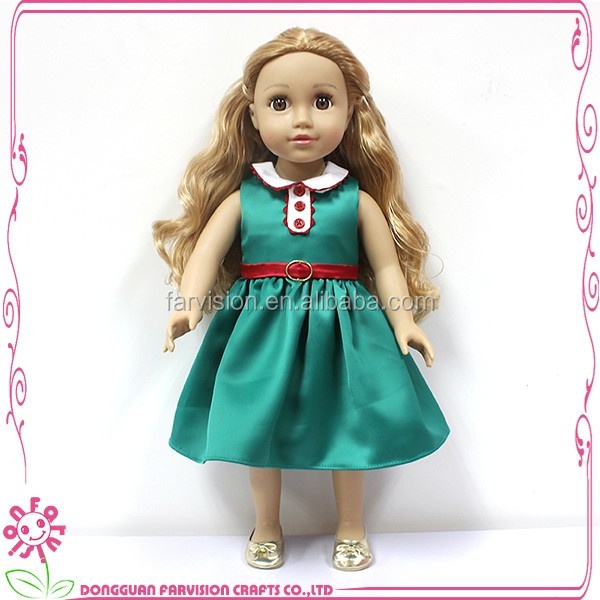 "Kids make up doll toy 18"" vinyl doll maker"