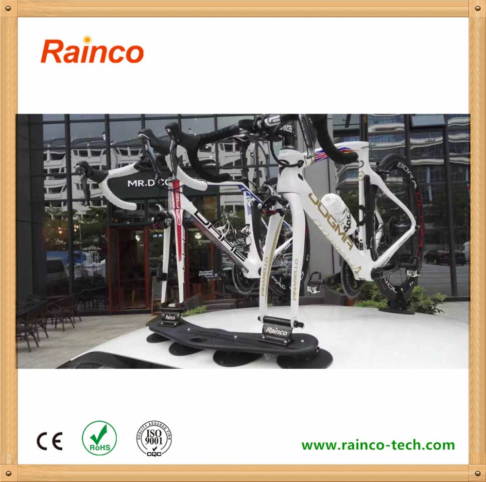 Rainco Portable Aluminium Alloy Universal Hitch Mount Bike Bicycle Rack For Car Roof