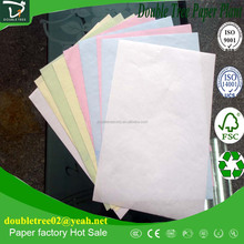 Carbonless Copy Paper CCP paper NCR paper with 3 ply from financial daily use.