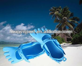 Latest silicone sandal shoes
