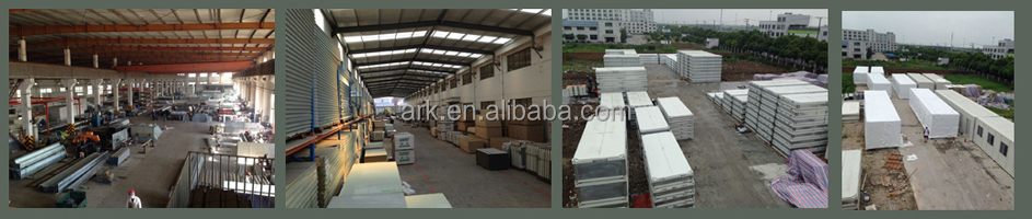 Ark Top Quality Long Lifespan Flatpack Prefabricated Steel villa