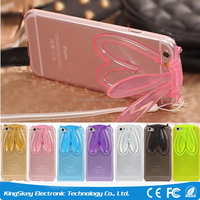 Popular Rabit Silicon TPU Case For iphone 6 plus