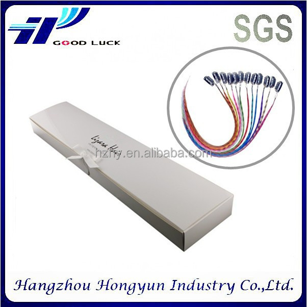 Paper Material and hair extension box Industrial Use Hair packaging