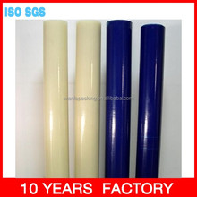 Wanfa Blue soft floor protective film high adhesion sticky PE film