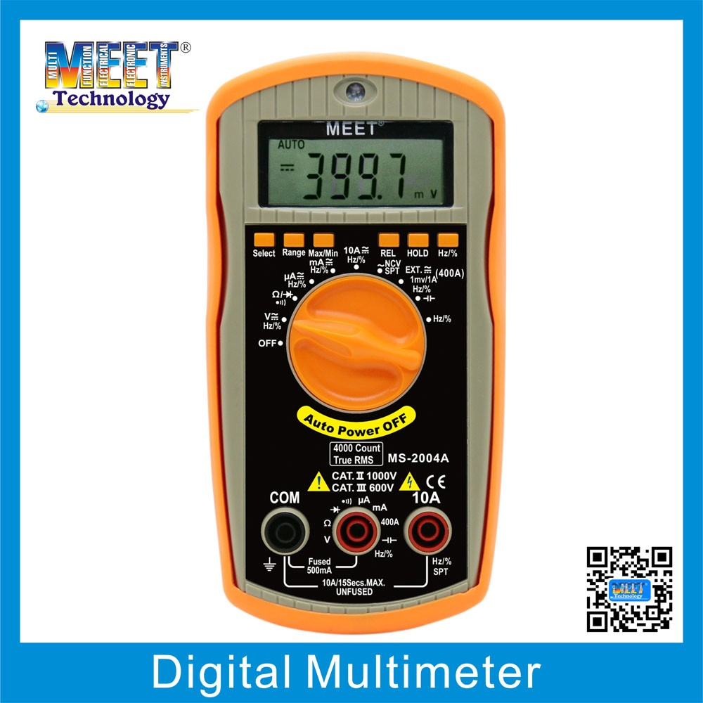 MS-2004A Modern Digital Multimeters with Diode Check
