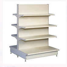 Powder coating supermarket shelf gondola display rack store shelf