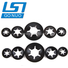 GONUO hardware china supplier steel black clamping washer bearing retaining washer clip washer