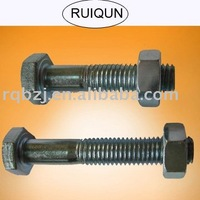 DIN931 Hex Bolt GI Bolts And