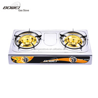 portable best flame stove accessories with double burner Gas Cooker BW-2033