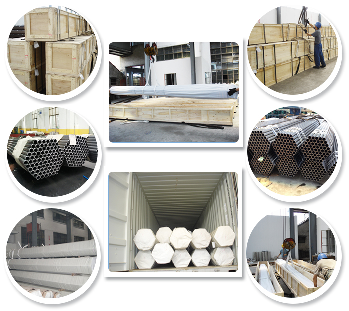 Seamless Stainless Steel Tubes for Structures