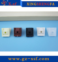 China manufacturer Small plastic angle bracket with cover