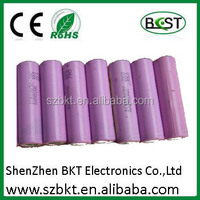 Li-Ion Type and 18*65mm Size 18650 high-capacity li-ion battery