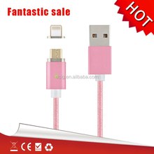 Magnetic usb cable ios and micro usb printer cable