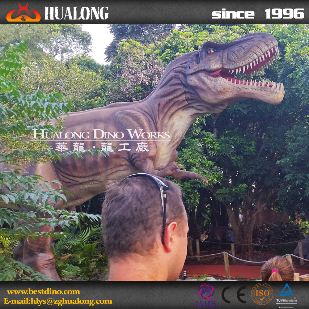 Amusement Park Attractions Mechanical Dinosaur T-rex