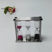 show pieces for home decoration sand timer hourglass