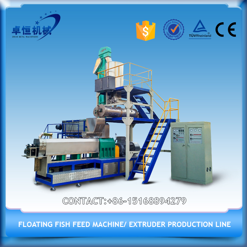 Cold freshwater fish feed pellet maker machinery