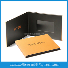 "4.3"" Electronic video greeting card,lcd player card"