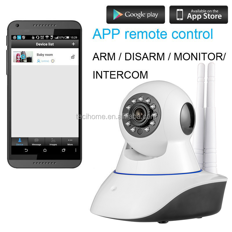 Shenzhen HD 720P Wifi Wireless IP Security Camera Mini Surveillance Night Vision CCTV Baby Monitor Camera