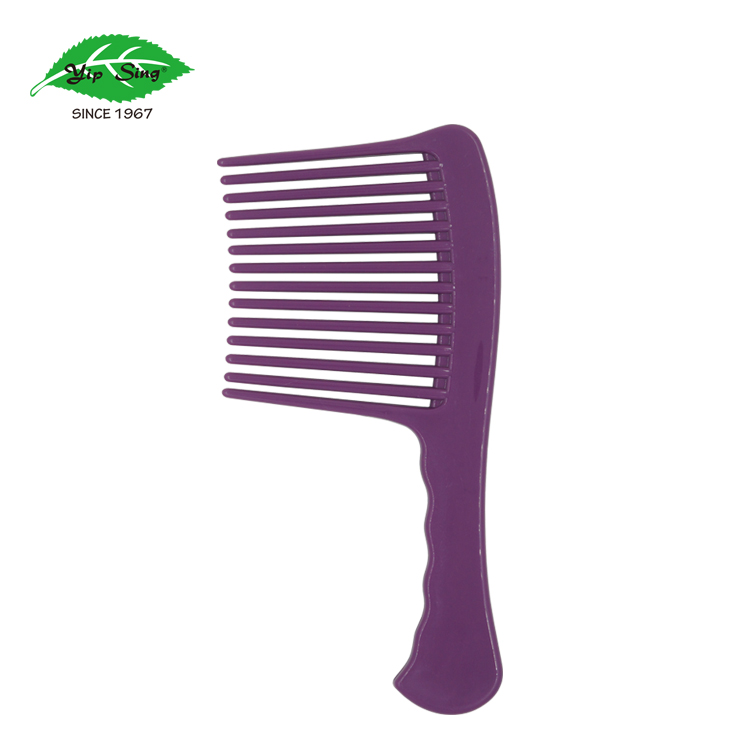 Jumbo wide tooth salon barber hair rake comb