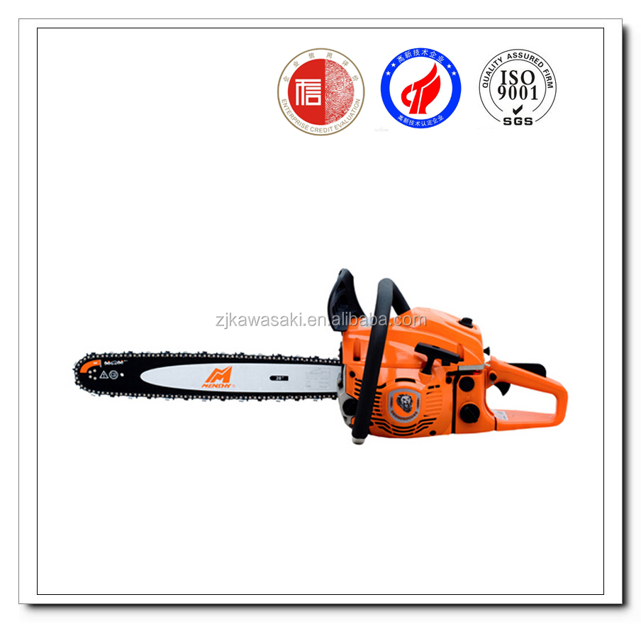 Gasoline cylinder chain saw new oil pump 58CC chain saw MS5800 for sale