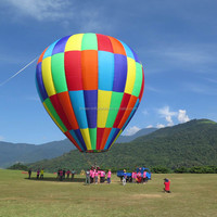 Top grade customized flying hot air balloon