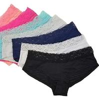 100% Cotton Soft Lady Young Girls Panties Underwear Models Girl Sexy Teen Bra Panty in 7 sets