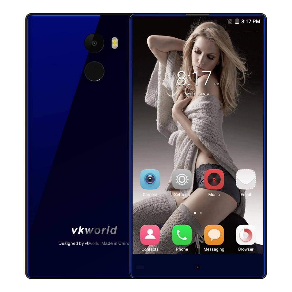 OEM Android Phone Original Unlocked Vkworld MIX Plus With5.5inch On-cell Memory 3G+32G Camera13MP attery 2850mAh