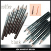 Wood mini cosmetic eyebrow pencil stock