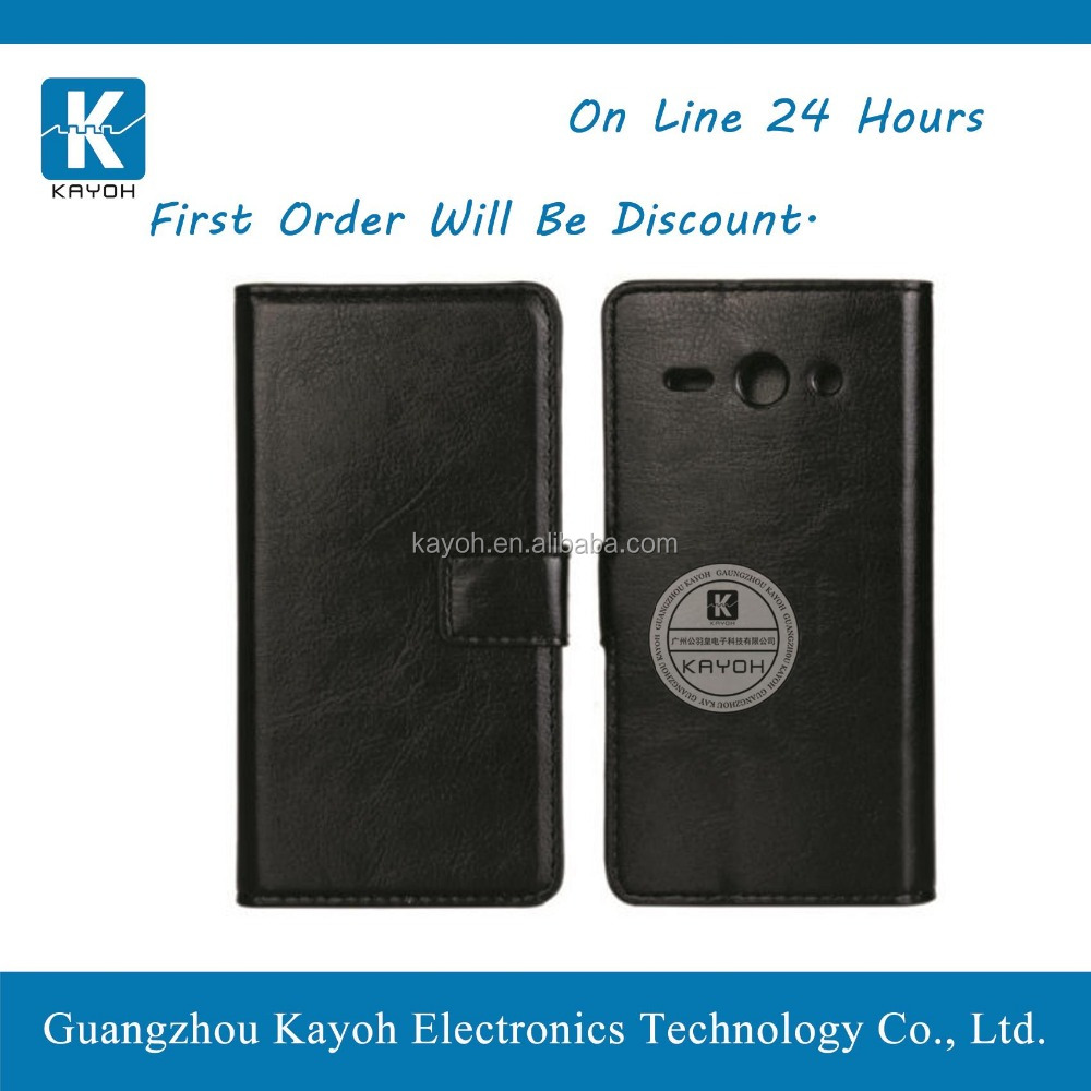 [kayoh] smart magnetic pad pu leather case with back cover for Huawei Y530