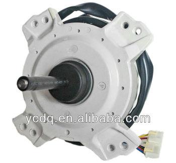 Resin packed brushless dc motor for split air conditioner for Dc motor air conditioner