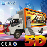 The Newest Style Entertainment Equipment 5d truck cinema