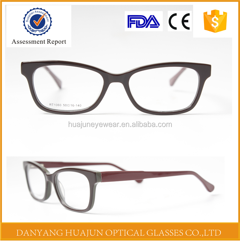 2017 handmade acetate prescription optical frames with your logo