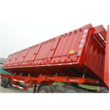 tri-axles tipper side dump semi trailer