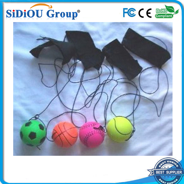 wrist rubber bouncing ball high bouncing ball