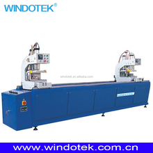 door window assembly line / Machinery for UPVC window/after sale service of pvc window making machine