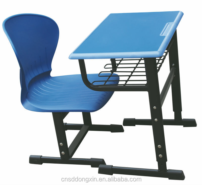 Used school furniture plastic tables and chairs /kid and school furniture set H808+KZ50