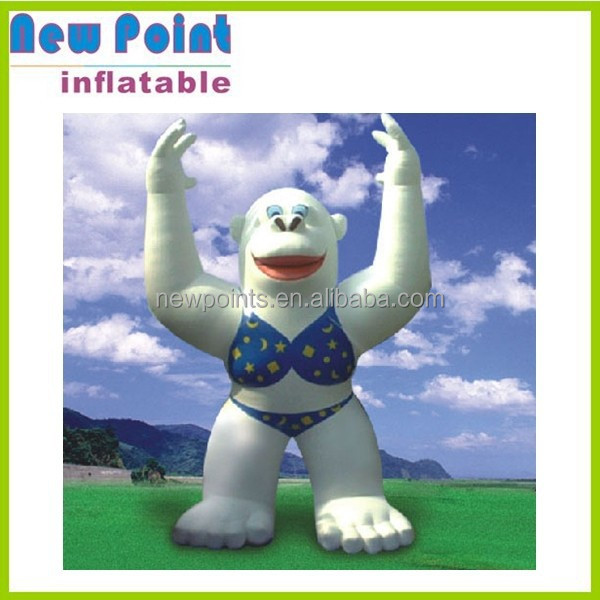 Inflatable animal toys, classic cartoon character blow up cartoon characters