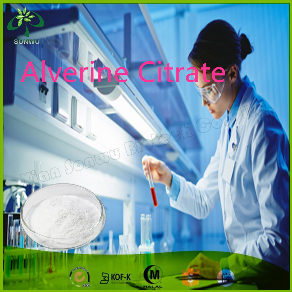 Pharmaceutical Chemical/Pharmaceutical Raw Materials Alverine Citrate