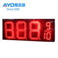 IP65 Regular Red 5 Digit 7 Segment Electronics Scoreboard Wireless Gas Station LED Price Sign LED Open Sign 24 Inch