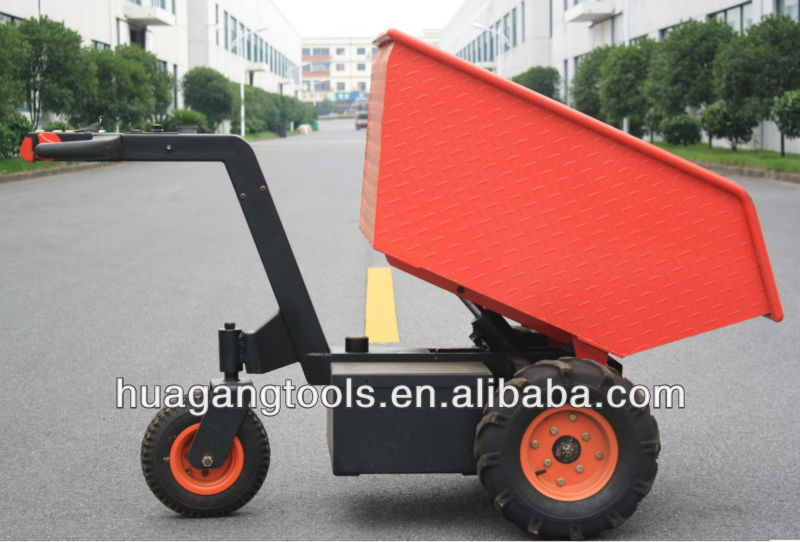 Heavy-Duty Electric Stand Tipper Lorry For Materials Handling
