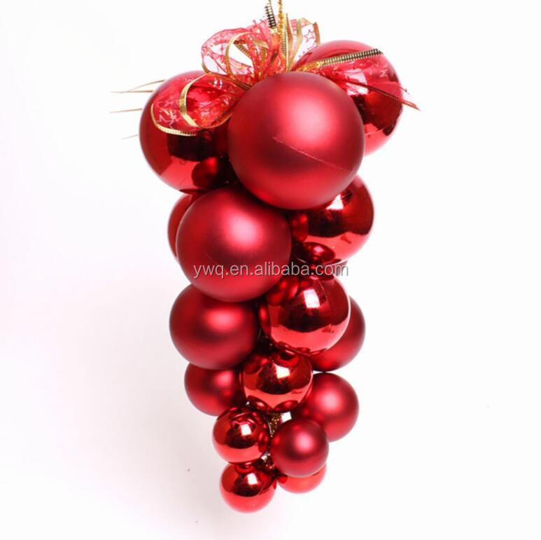 large outdoor christmas balls 30cm christmas grape ornament