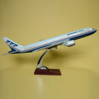 YL104 high quality boeing B777 resin airplane model,aircraft resin plane,scale model plane