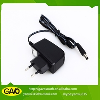 China cheap price 10v 1a power supply adapter for satellite receiver