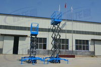removable scissor lift platform