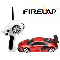 Firelap brand 1/28 rc car used in Professional street race